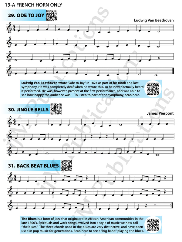 All Music Chords french horn sheet music : FRENCH HORN - jjm Publications